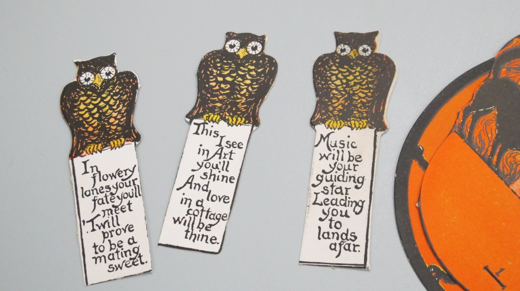 Halloween party fortunes from the 1920s - from the collections of The Henry Ford