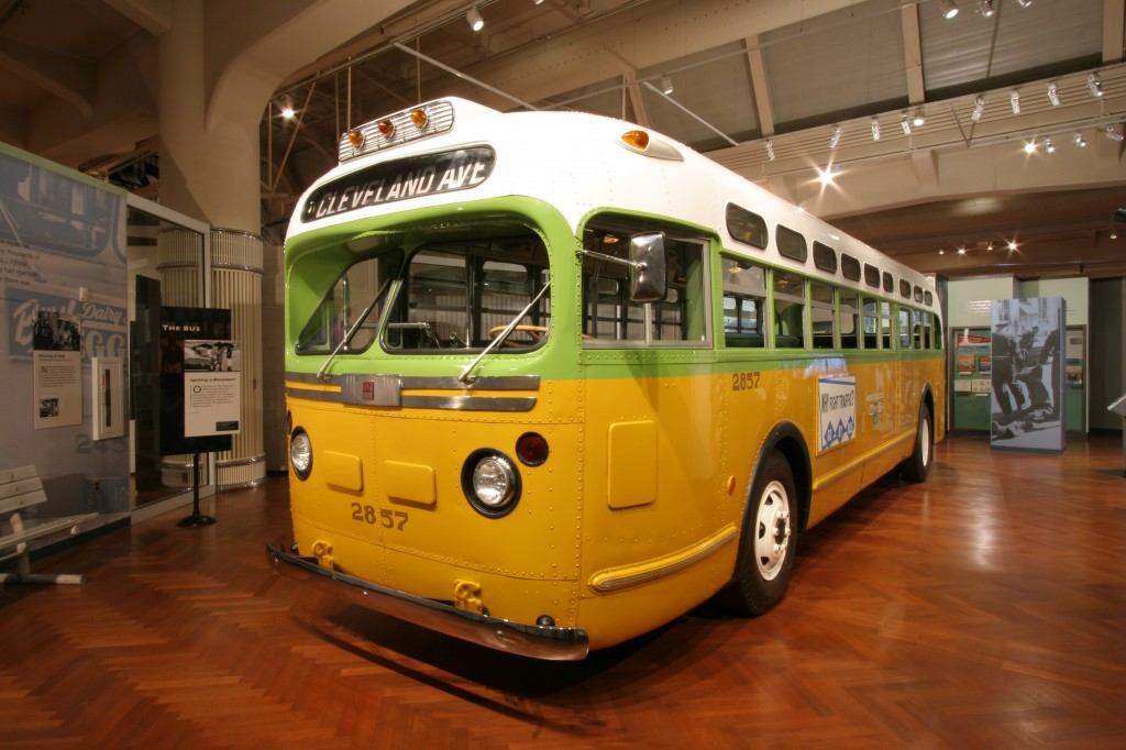 Rosa Parks Bus Driver Side View - The Henry Ford