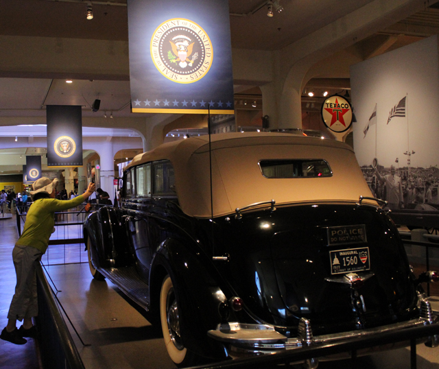 Presidential Limousines - On display at Henry Ford Museum