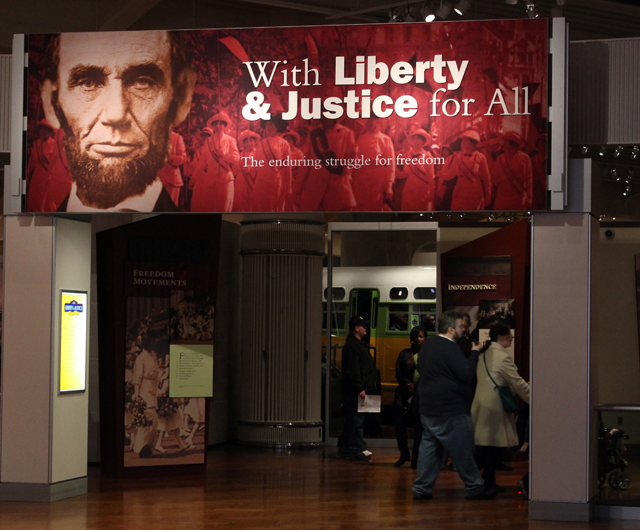 With Liberty and Justice for All -- Henry Ford Museum