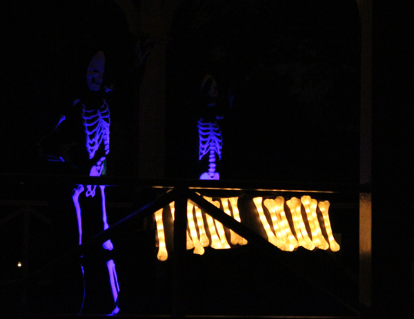 Dancing skeletons - Halloween in Greenfield Village