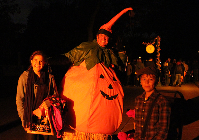 Fun costumes at Halloween in Greenfield Village