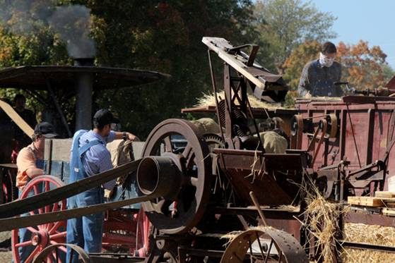 Thresher at Fall Flavor Weekends