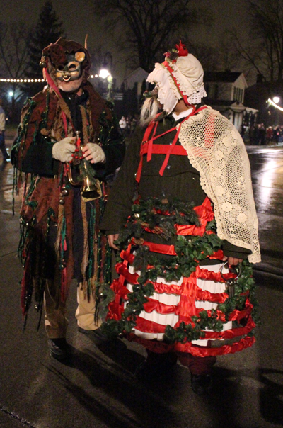 Holiday Nights in Greenfield Village Mummers