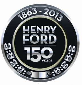 Henry Ford 150 year chrome seal