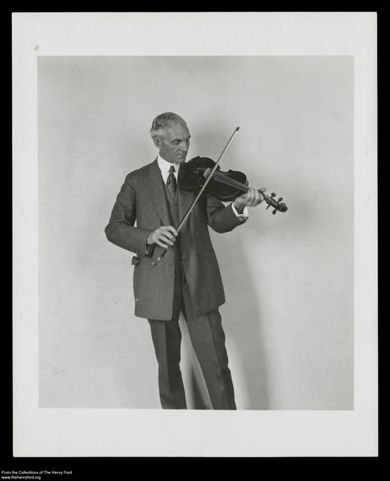 Henry Ford With a Fiddle