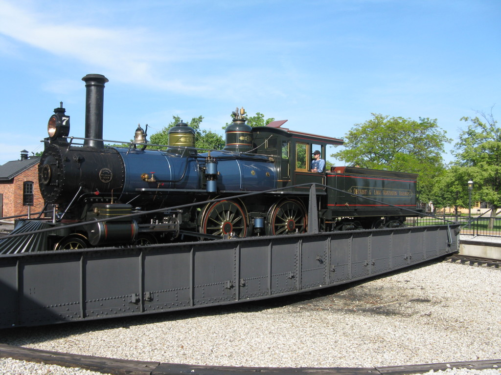Baldwin No. 7 at the Roundhouse