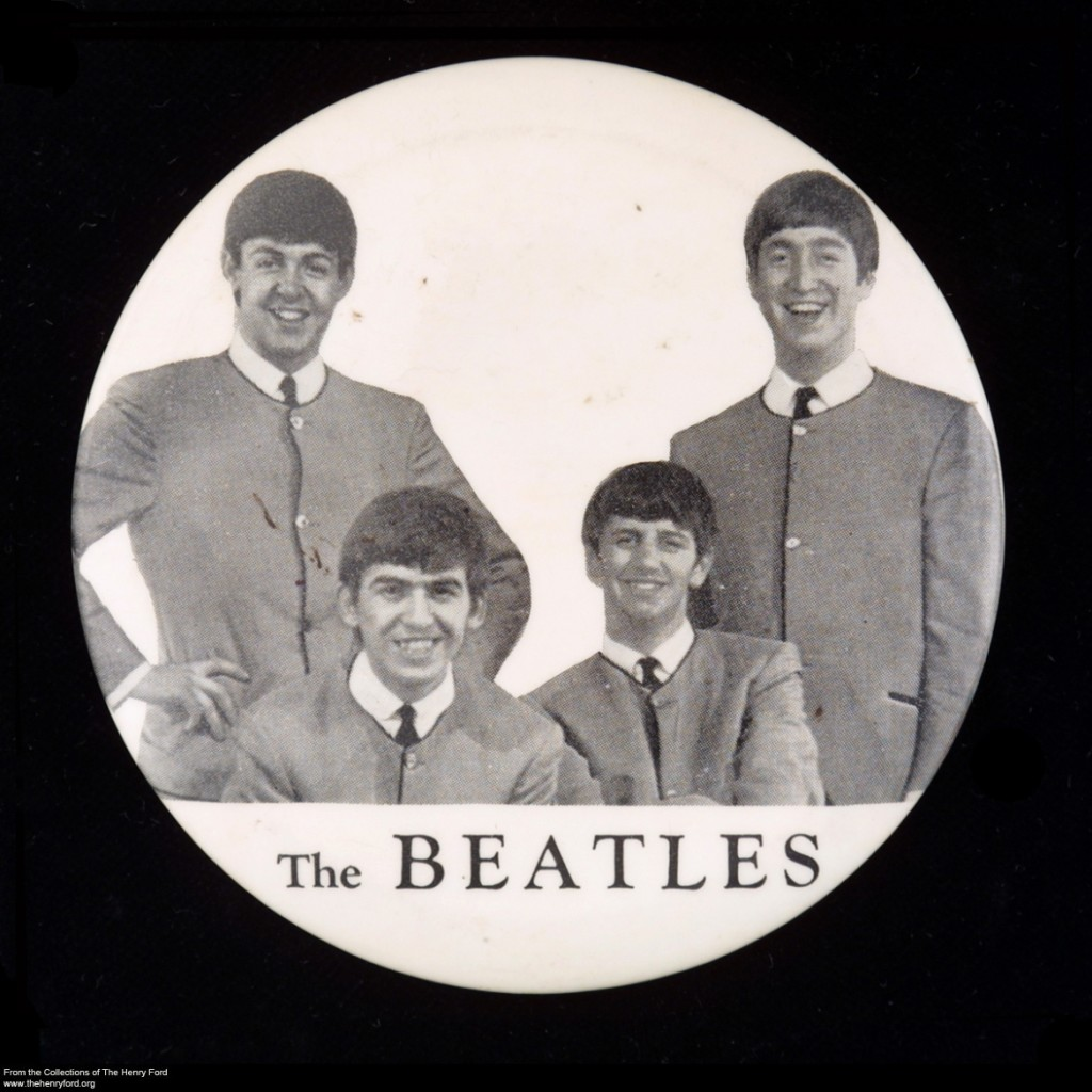 Beatles Button