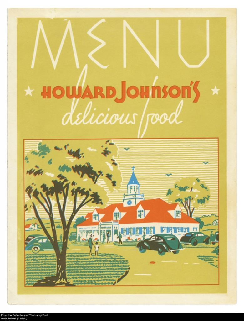 Howard Johnson's Menu