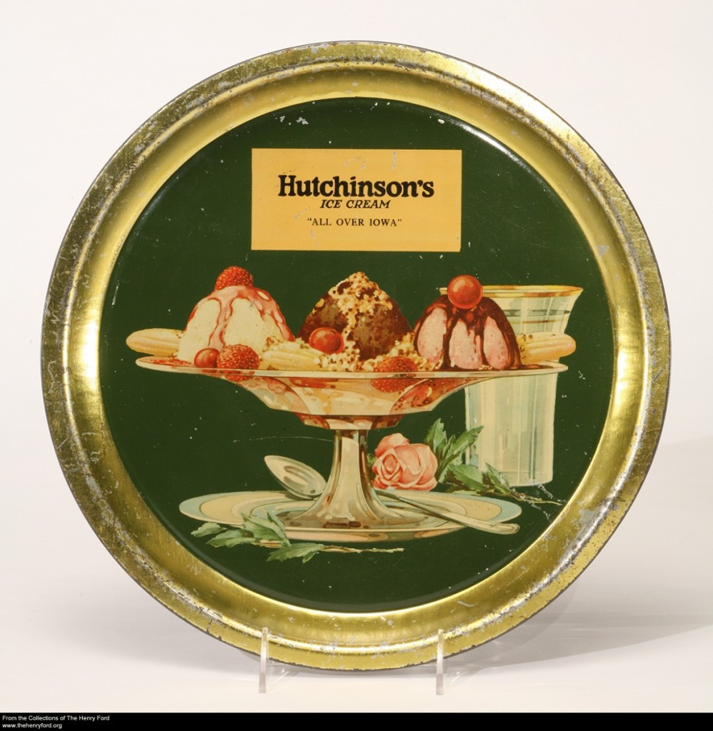 Hutchinson's Ice Cream Tray