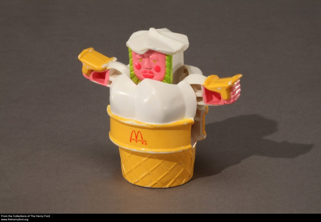 McDonald's Turbo Cone Toy
