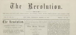 The Revolution - Newspaper - Celebrate Women's History