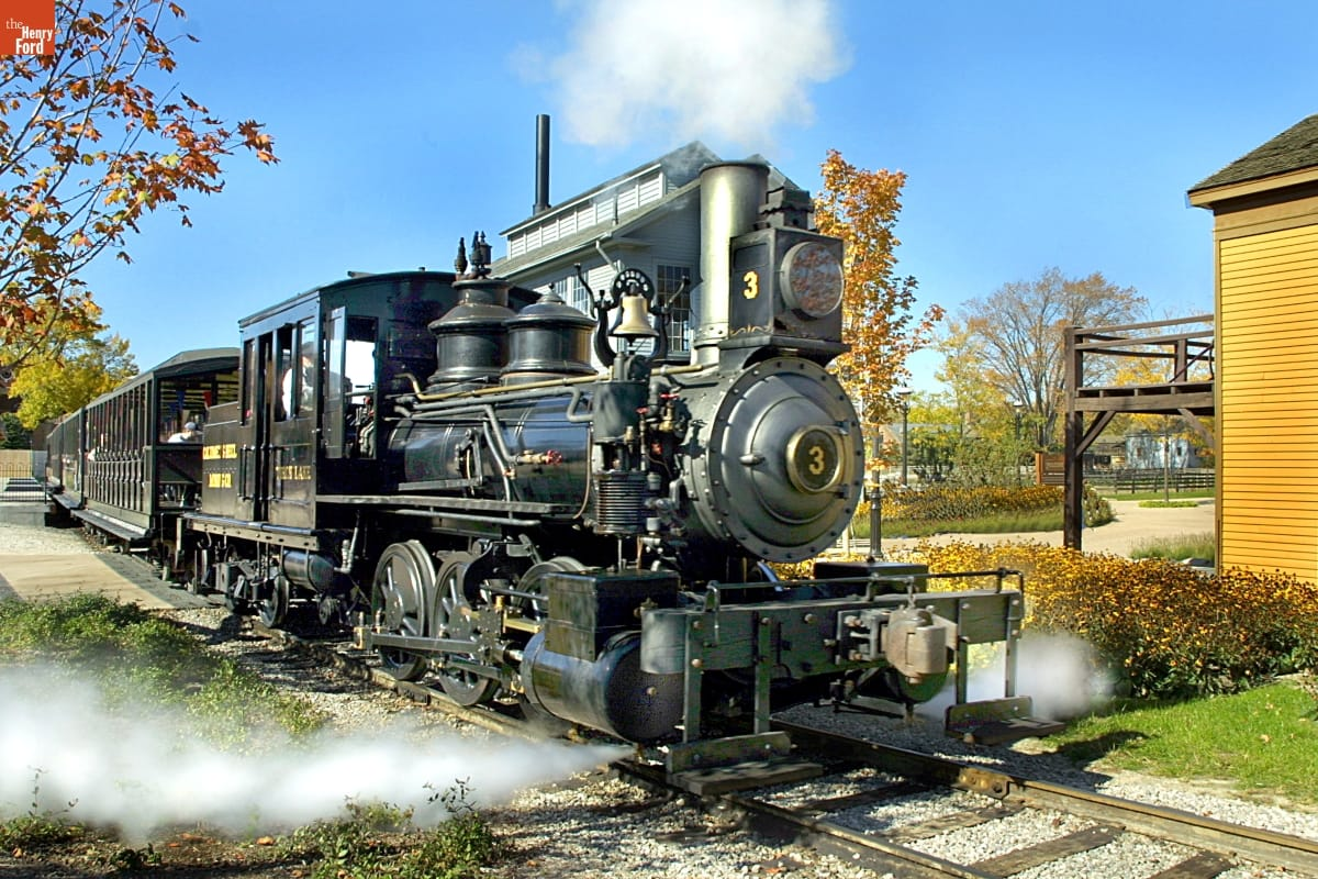 Torch Lake Steam Locomotive, 1873
