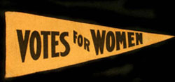 Votes For Women Pennant 1915 - Celebrate Women's History