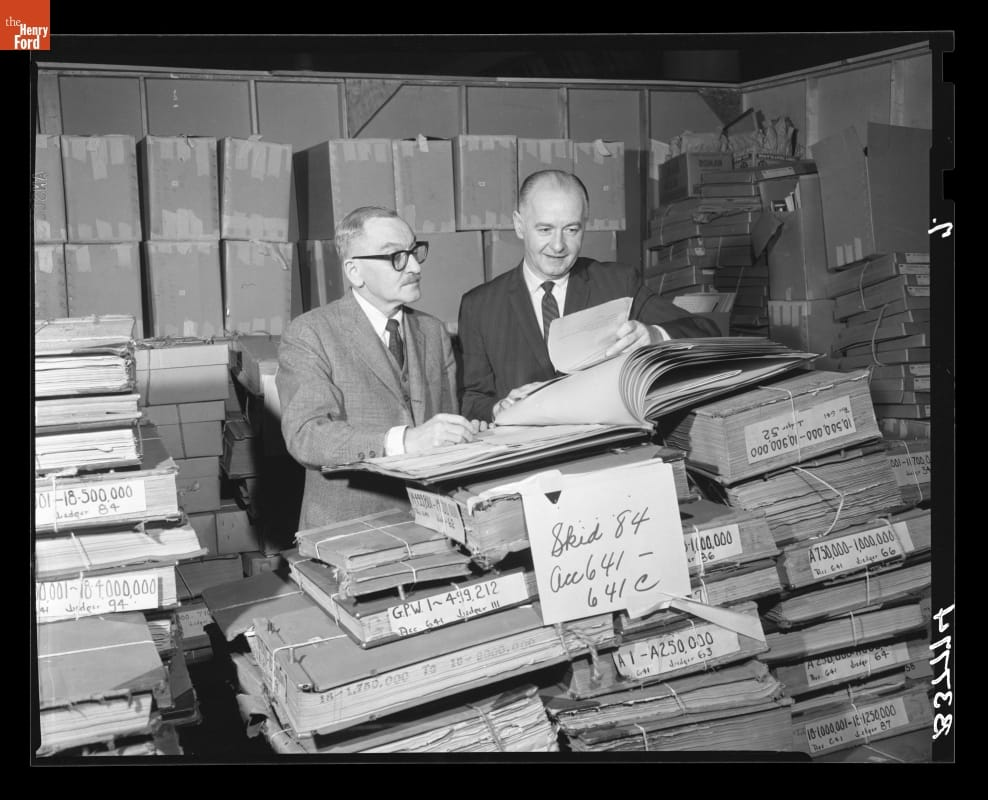 Ford Motor Company Historic Business Records Collection
