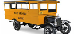 Virtual Visit - Blue Bird School Bus