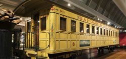 Virtual Visit - Railroad Passenger Coach