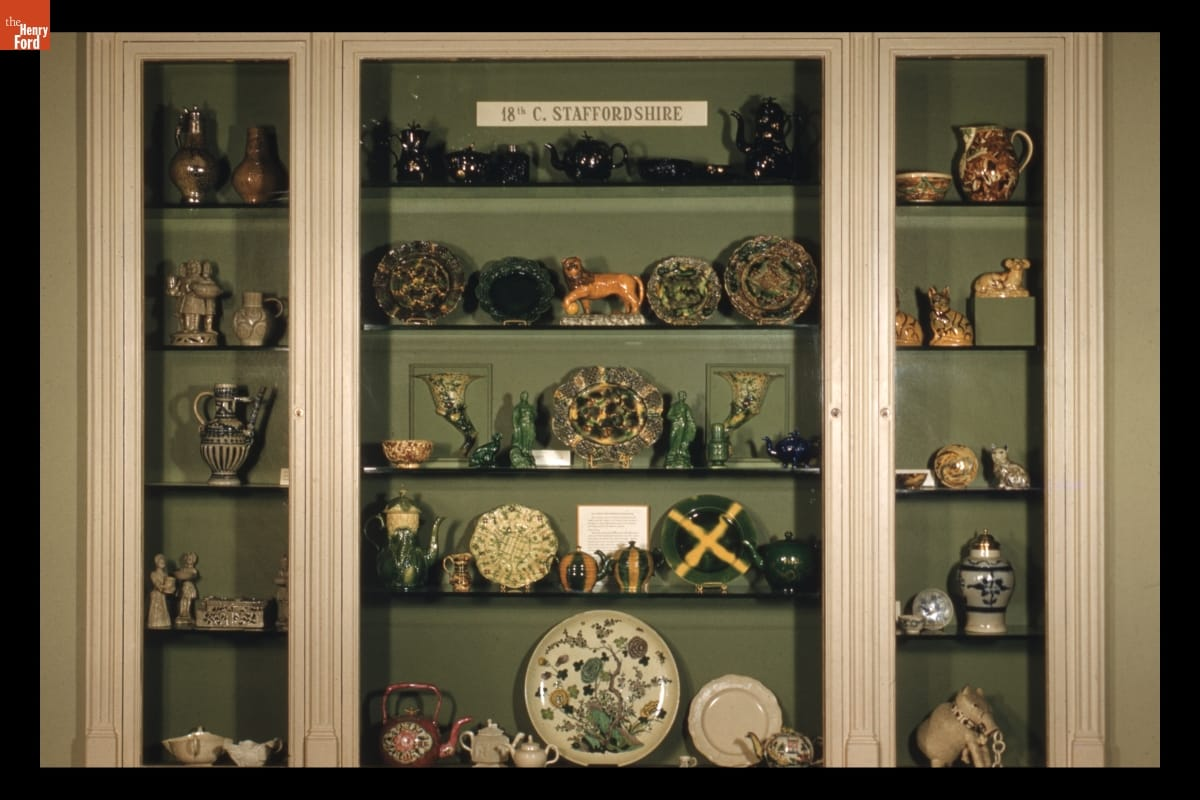 Staffordshire Case in Decorative Arts, 1960