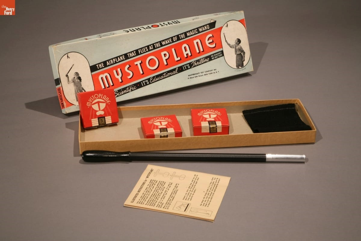 """Mystoplane"" Toy Airplane Set, 1946-1947 (2008.23.1)"