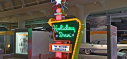 Virtual Visit - Holiday Inn Sign