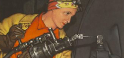 Women in War Posters - Celebrate Women's History