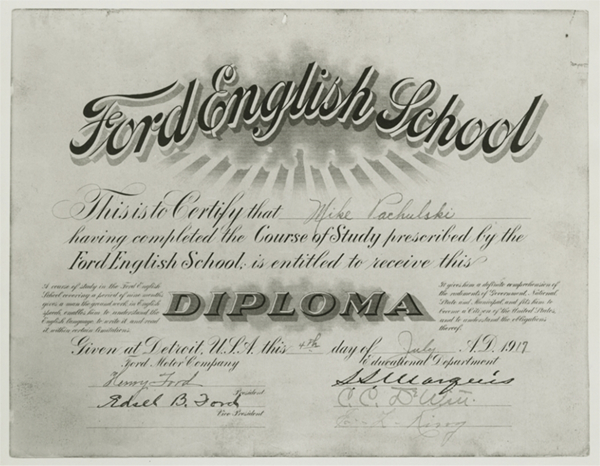 Ford English School Diploma