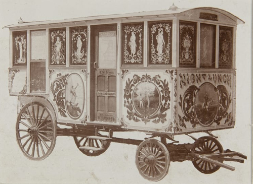 C.H. Palmer Night Lunch Wagon