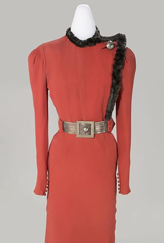 Dress from American Style and Spirit Exhibit