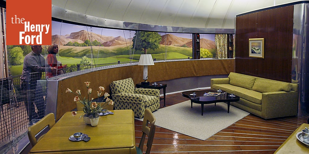 Excellent Dymaxion House Exhibit At The Henry Ford Museum Download Free Architecture Designs Scobabritishbridgeorg
