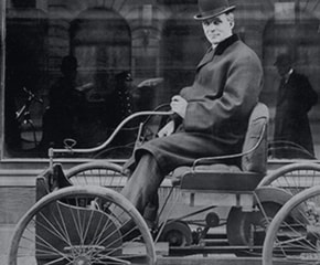 The Original Quadricycle See Henry Fordu0027s first gasoline-powered automobile in our Driving America exhibit. Visit Museum & What if Henry Ford Never Finished His First Automobile - The Henry ... markmcfarlin.com
