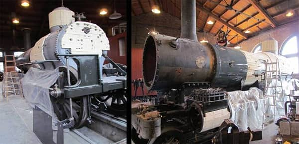 Baldwin Steam Locomotive