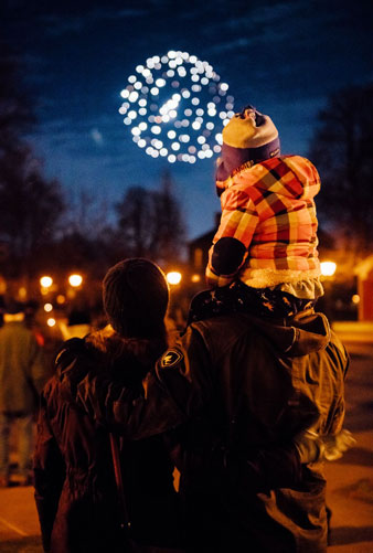 Holiday Nights in Greenfield Village - Fireworks