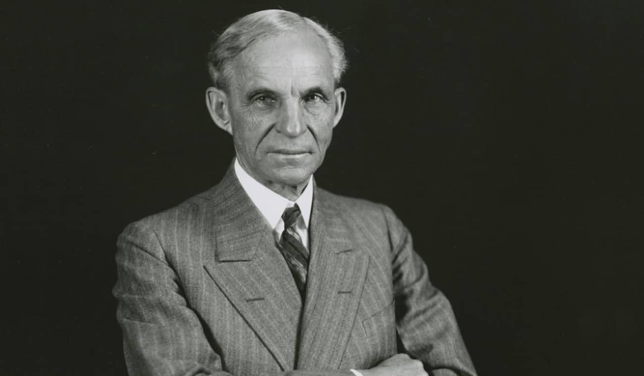 Henry Ford the man of men. at EssayPedia.com